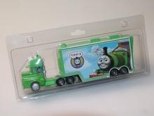 托马斯li金声光 回uf火车套装拖车 男孩子仿真模型玩具 车