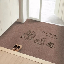 地垫进li入户门蹭脚on门厅地毯家用卫生间吸水防滑垫定制