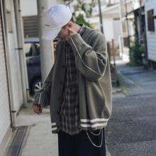 [lisai]学院风春秋V领针织衫男士