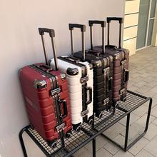CK行李箱(小)型20寸皮箱子拉杆li12女男密ai向轮旅行箱ins网红