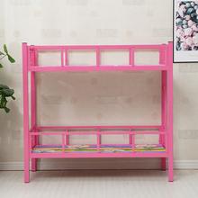 幼儿园li午睡床辅导al上下床铺午托铁艺宝宝床(小)学生托管班床