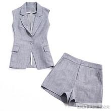 2020li1季新式西al装女韩款显瘦职业时尚洋气减龄两件套薄式