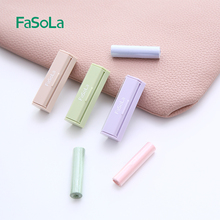 FaSliLa 吸油ya女控油便携镜子学生鼻子清洁面纸油纸女士绿茶
