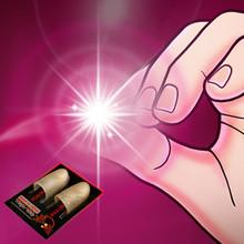 魔术8li00 光能ua星 拇指灯 手指灯 魔术玩具