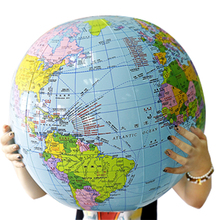 充气地li54CM大zi学生地理宝宝玩具课堂教具划区包邮