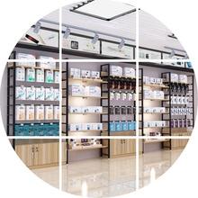货架展li架化妆品柜zi柜产品展柜展架美容院母婴店多层置物架