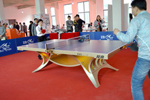 正品双lk展翅王土豪xcDD灯光乒乓球台球桌室内大赛使用球台25mm