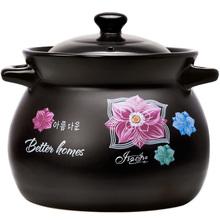 嘉家经lo陶瓷煲汤家ch大容量沙锅土煤燃气专用耐高温