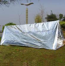 促销价lo出口欧美防om帐篷急救毯救生毯户外帐篷临时保温窝棚