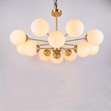 北欧轻lo现代客厅吊ma网红创意卧室灯具简欧美式家用餐厅灯饰