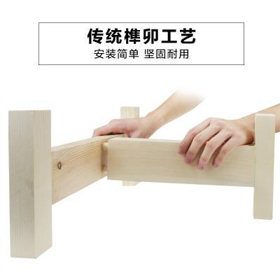 石磨盘lo用磨盘木架ob实木木支架专用底座托盘四腿新式