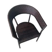 庭院桌lo五件套阳台lw子户外咖啡厅酒店露台铁艺仿藤桌椅组合
