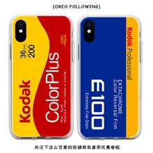 复古相机胶卷手机lo5适用于苹orro/8包边硅胶华为Mate40/(小)米11