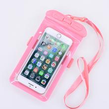 外卖手机防lo袋可触屏防to手密封防尘保护套游泳防手机进水袋
