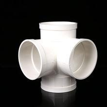 立体四lo接头 塑料ce 排水管 下水管 工程管件配件50 75 110 160