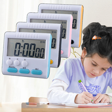 计时器lo记厨房电子us秒表学生时间管理做题闹钟家用