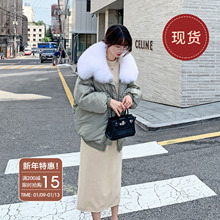 法儿家lp国东大门2jx年新式冬季女装棉袄设计感面包棉衣羽绒棉服