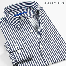 第五季lt棉免烫深藏hg衬衫男装商务修身韩款青年抗皱长袖衬衣