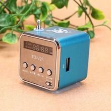 迷你(小)音响插卡音箱可插ulu9音乐usuimp3(小)型便携款收音机
