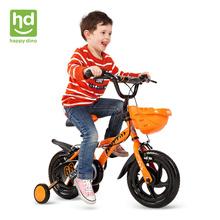 小龙哈彼12寸童车炫酷造型脚踏车