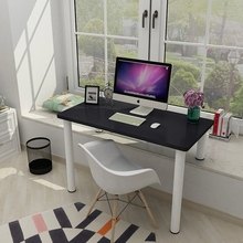 电脑桌lu童学习桌阳in(小)写字台窗台改电脑桌学生