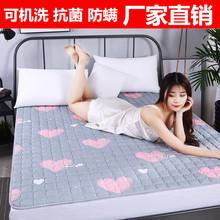 软垫薄lu床褥子防滑an子榻榻米垫被1.5m双的1.8米家用