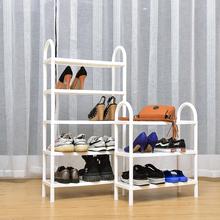 现代简lu家用鞋柜多an寝室鞋子收纳架日式塑料鞋架经济型简易