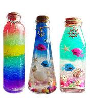 水晶泥泡大珠海ly4宝宝水晶yc虹海洋星空漂流瓶全套材料包邮