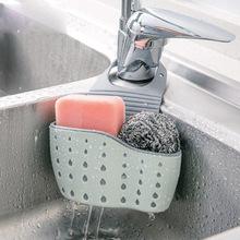 厨房水槽沥水篮挂袋水龙头海绵置物
