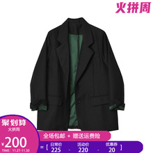 Deslzgner mfs 黑色(小)西装外套女2020春秋新式OL修身气质西服上衣
