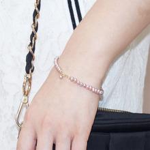同心缘4mm淡水珍珠手链(小)珍珠细式ma14色14dj(小)巧清新文艺范