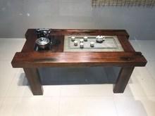 [madri]家用一桌根雕茶桌椅组合功