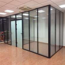 湖南长ma办公室高隔ri隔墙办公室玻璃隔间装修办公室