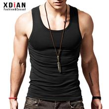 纯棉背ma男士运动健ri修身型打底弹力夏季无袖跨栏内穿潮汗衫