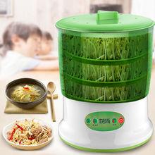 豆芽机ma用全自动大ll豆牙菜桶生绿豆芽罐自制育苗盆