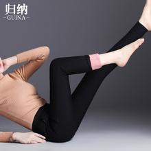 女加厚ma绒外穿打底tt19冬季高腰显瘦弹力保暖羽绒棉裤