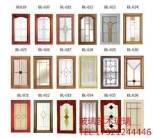 定做艺ma玻璃工艺木as厨柜酒柜隔断玄关铜条镶嵌艺术玻璃订做