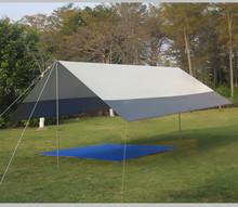 超大天ma户外遮阳棚iz紫外线天幕帐篷露营多的防雨棚6-8的