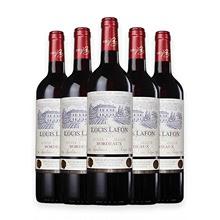 路易拉ma典藏波尔多dr萄酒 法国原瓶进口红酒6支装整箱促销中