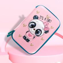 文具盒ma宝宝笔袋(小)ci儿园铅笔盒女生男童文具袋多功能创意文具盒大容量3D凹凸防