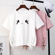 (小)清新ma衣可爱少女ob生高中学生长袖秋季卫衣T恤短袖夏女生