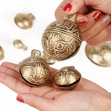 包邮特价平安铃--铜铃铛ma9铃铛大号ke黄铜铃铛宠物挂饰秒杀