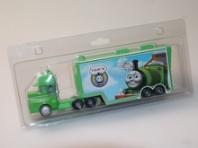 托马斯ma金声光 回hi火车套装拖车 男孩子仿真模型玩具 车