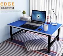 电脑做ma桌子(小)大学hi宿舍80cm床上用50可折叠下铺组装床桌宽