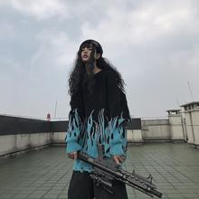 [marks]COAR 潮牌拼色火焰毛