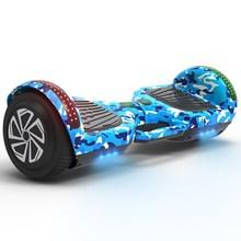 手提两ma电动扭扭车hs轮智能体感代步学生自跑马灯蓝牙