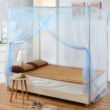 带落地ma架1.5米sa1.8m床家用学生宿舍加厚密单开门