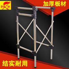 厨房厚简易不锈钢水槽单槽带支架ma12手盆水ro盆洗碗池架子