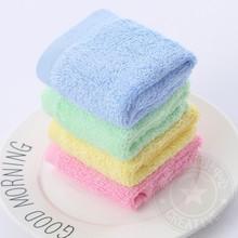 不沾油ma方巾洗碗巾hi厨房木纤维洗盘布饭店百洁布清洁巾毛巾