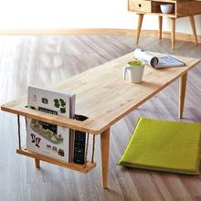 北欧实ma茶几简约现or型客厅(小)茶桌创意多功能日式茶台